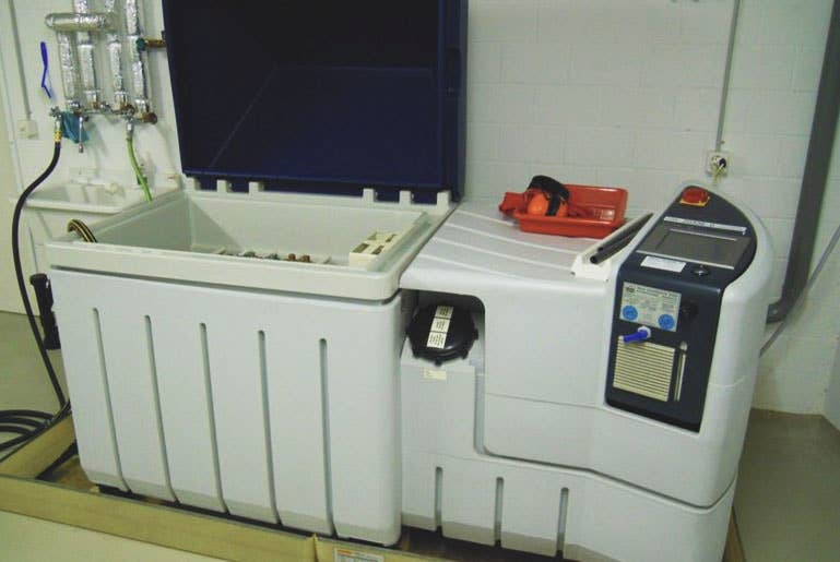 Trafag salt spray test chamber