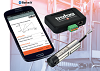 Smart parameterization app and cable protection for level probes