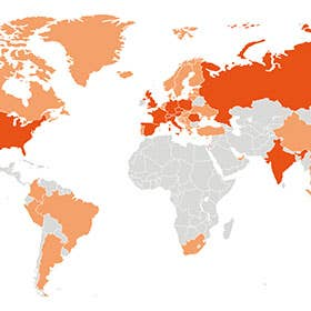 Trafag weltweit